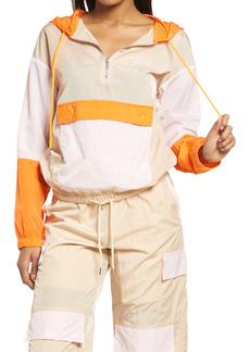 KENDALL + KYLIE Hooded Parachute Jacket