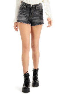 Kendall + Kylie Juniors' Ultra High-Rise Jean Shorts
