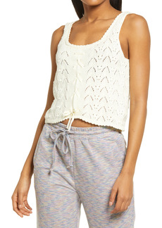 KENDALL + KYLIE Lace Crop Tank