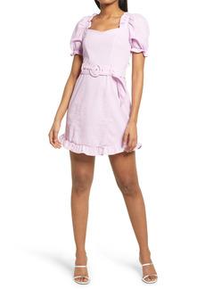 KENDALL + KYLIE Puff Sleeve Minidress