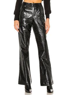 KENDALL + KYLIE Vegan Leather Wide Leg Pant