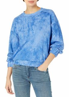 KENDALL + KYLIE Women's Elastic Waist Sweatshirt