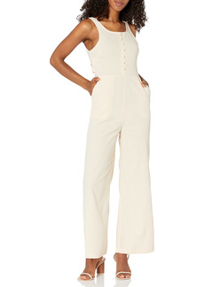 KENDALL + KYLIE Women's Open Jumpsuit with Back Tie  S