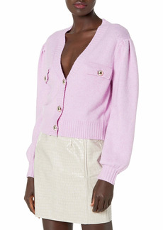 KENDALL + KYLIE Women's V-Neck Cardigan with Pocket