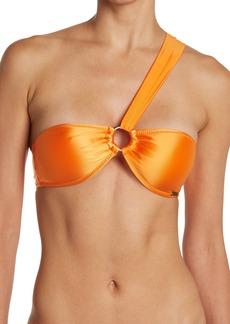 Kendall + Kylie O-Ring Bandeau Bikini Top