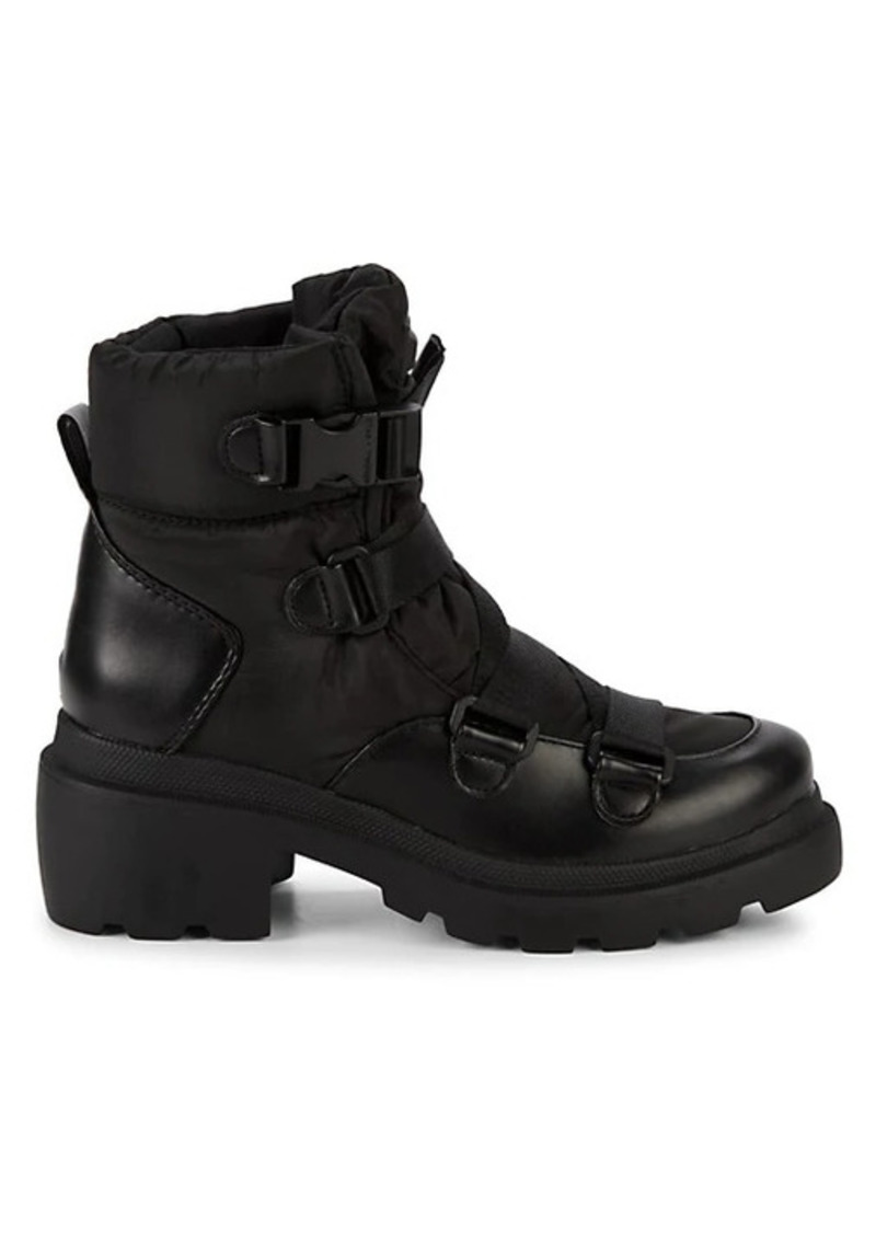 Kendall + Kylie Riley Buckle Combat Boots