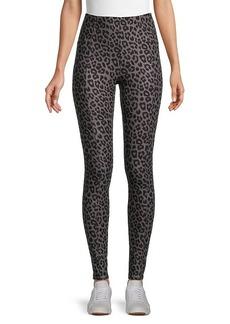 Kendall + Kylie Soft Leopard-Print Leggings