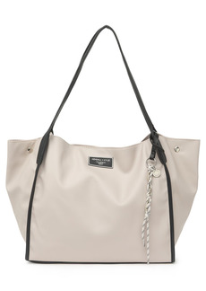 Kendall + Kylie Taupe Faux Leather Handbag