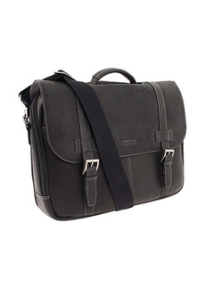 Kenneth Cole Colombian Leather - Flapover Portfolio/Computer Case