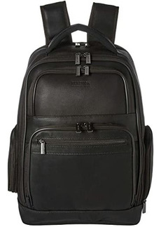 "Kenneth Cole Colombian Leather 15.6"" RFID Computer Backpack"