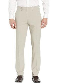Kenneth Cole Crosshatch Stretch Slim Dress Pants