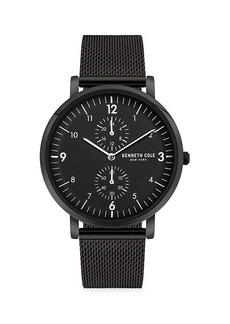 Kenneth Cole Dress Sport Multi-Function Stainless Steel Bracelet Watch