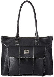 "Kenneth Cole Faux Leather 16"" Computer Business Tote"