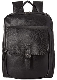 Kenneth Cole Faux Leather Computer Travel Backpack