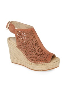Kenneth Cole New York Olivia Platform Espadrille Sandal (Women)