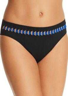 Kenneth Cole Triangle Trim Hipster Bikini Bottom