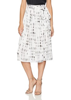 Kenneth Cole Women's Pleated Skirt  S