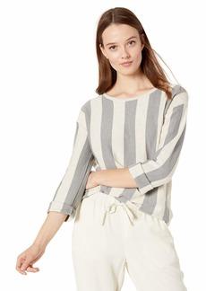 Kenneth Cole Women's Stripe Trapeze Pullover  L