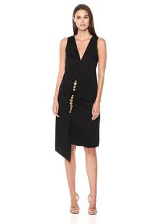 Kenneth Cole Women's Twist Wrap Dress  L