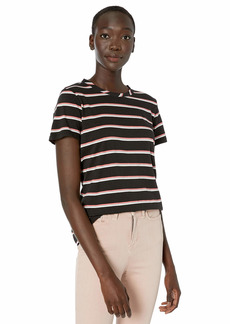 Kenneth Cole Women's WRAP Around You Knit TEE  M
