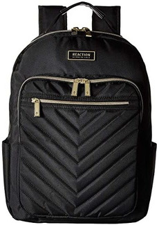 Kenneth Cole Polyester Twill Chevron Backpack