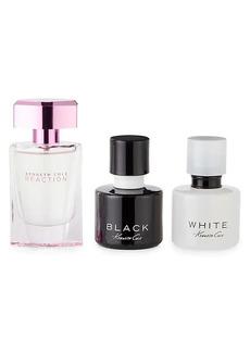 Kenneth Cole Reaction, Black & White Eau de Parfum 3-Piece Set