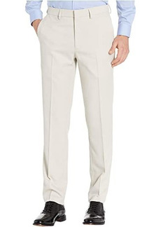 """Kenneth Cole """"Unlisted"""" Stretch Heather Gab Slim Fit Flat Front Flex Waistband Dress Pants"""