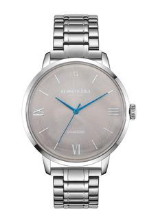 Kenneth Cole Women's Genuine Diamond Bracelet Watch, 42mm - 0.005 ctw