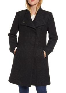 Women's Kenneth Cole New York Wool Blend Boucle Coat