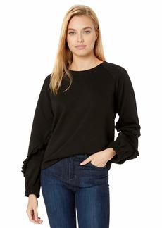 kensie Women's Cozy Fleece Sweatshirt