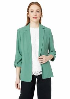 kensie Women's Stretch Crepe Jacket  S