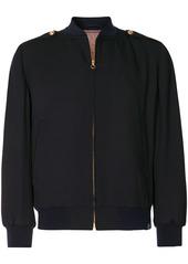 Kent & Curwen button tab bomber jacket