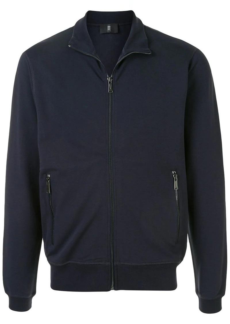 Kent & Curwen camouflage print zip-up jacket