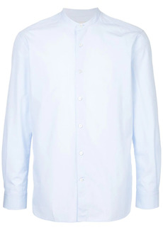 Kent & Curwen collarless shirt