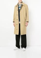 Kent & Curwen concealed fastening mid-length coat