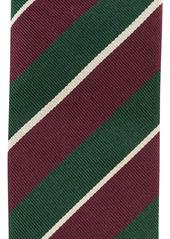 Kent & Curwen diagonal-strip silk tie