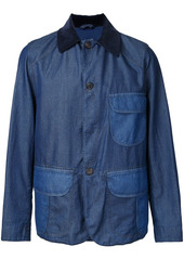 Kent & Curwen fitted denim jacket