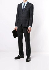 Kent & Curwen fitted straight-leg trousers
