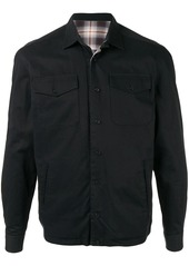 Kent & Curwen flap pocket shirt jacket