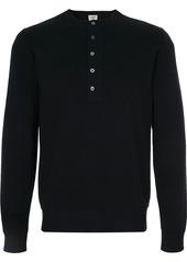 Kent & Curwen half buttoned sweatshirt