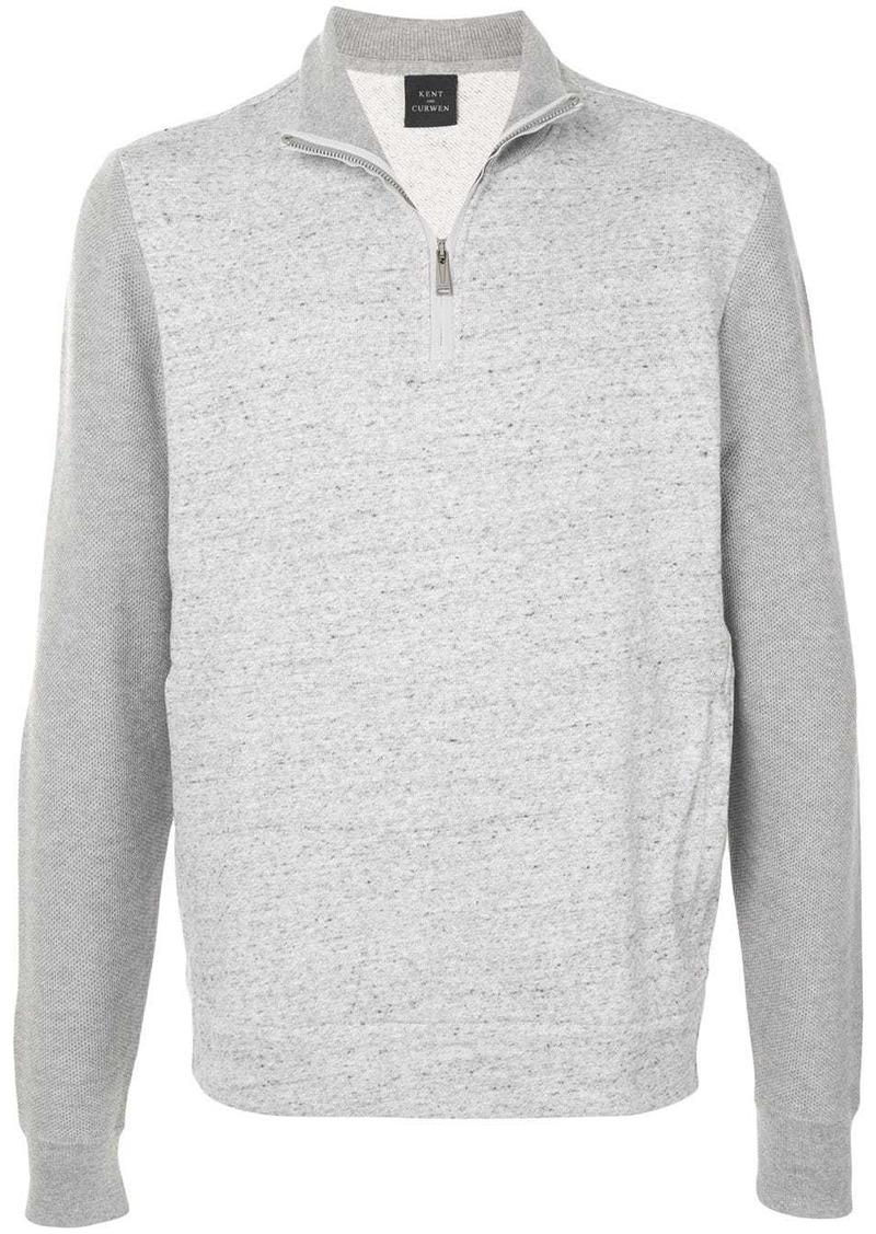 Kent & Curwen half-zip sweatshirt
