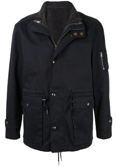 Kent & Curwen layered drawstring-hem jacket