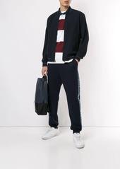 Kent & Curwen logo stripe track pants