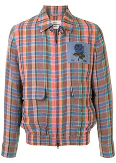 Kent & Curwen long sleeve checked shirt jacket