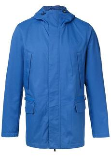Kent & Curwen plain hooded sport jacket