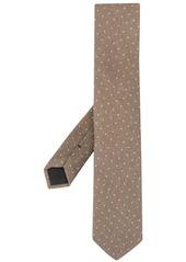 Kent & Curwen polka-dot wool-silk tie