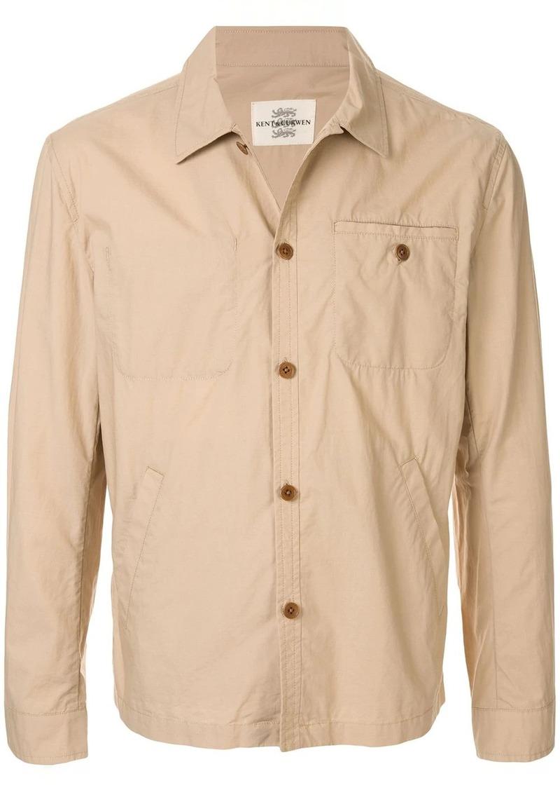 Kent & Curwen short shirt jacket