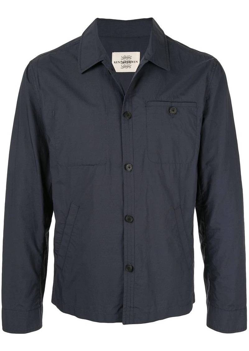 Kent & Curwen short shirt jacket