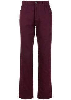 Kent & Curwen straight leg mid-rise trousers