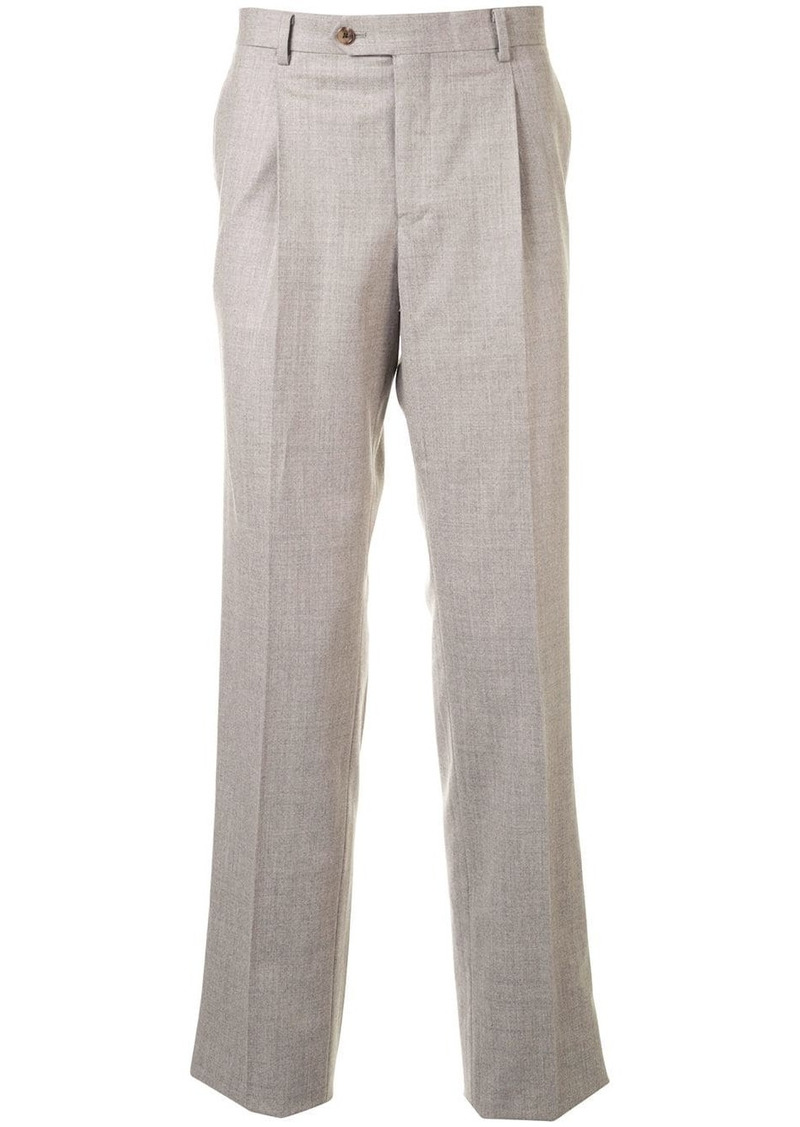 Kent & Curwen straight-leg tailored trousers
